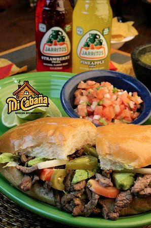Winterville, Carolina del Norte: Torta -Mi Cabana Mexican Restaurant