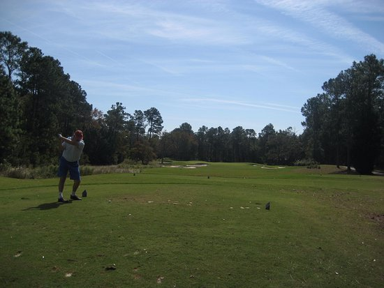Bolivia, NC: View from 1st tee on Ibis.