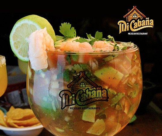 Τζάκσονβιλ, Βόρεια Καρολίνα: Coctel de Camaron -Mi Cabana Mexican Restaurant
