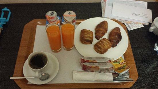 Mocenigo Vatican Suites: Desayuno rico!!!