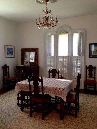 East Machias, Мэн: Formal dining area