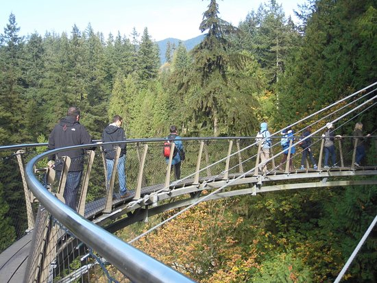North Vancouver, Canadá: the cliff walk