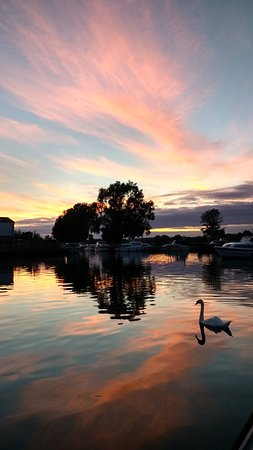 Beccles Yacht Station late August 2016