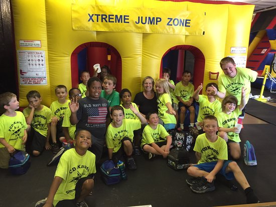 Pocono Pines, Pensilvania: Great day at Xtreme Jump Zone