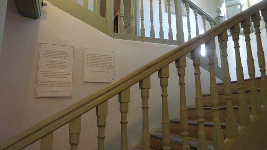 House Museum of Antonio Machado: Scala interna