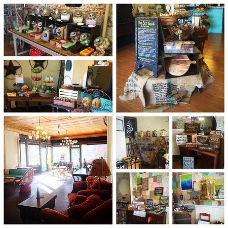 Leavenworth, KS: Lots of new seating in our dining room, plus gourmet and bulk foods, candy, and housewares!