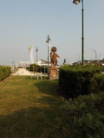 Punta Sabbioni, İtalya: Am Anleger Treporti