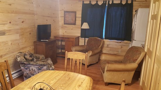 Craig, CO: Two bedroom Cabin Living Room area