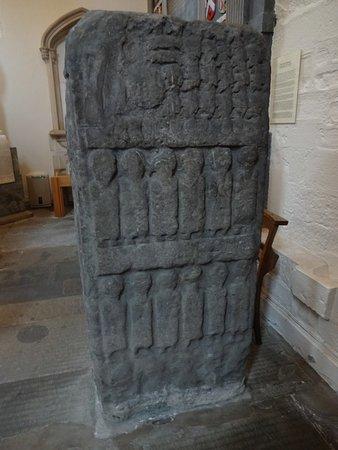 Dunkeld, UK: The Apostles Stone.
