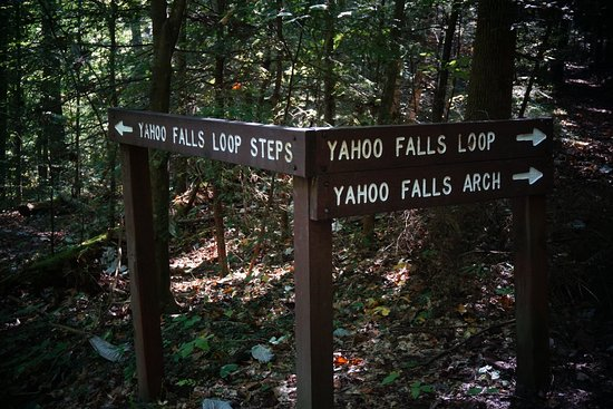 Big South Fork National River & Recreation Area: Yahoo Falls - Big South Fork NRRA