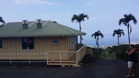 Holualoa, Hawaï: Coffee House with an amazing view