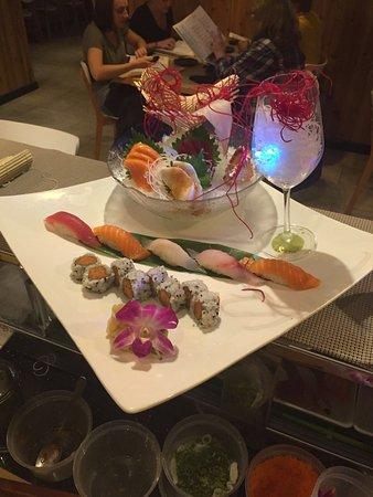 Fairfax, VA: Sushi and Sashimi Combanation