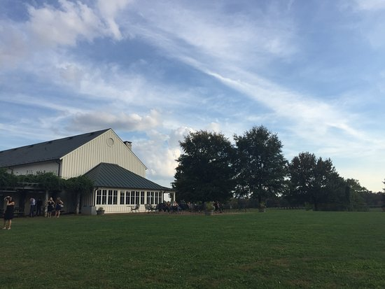 Crozet, VA: Vineyard tasting and store building