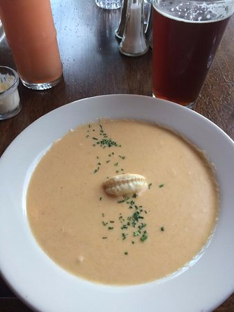 Carnelian Bay, Калифорния: Shrimp & lobster bisque