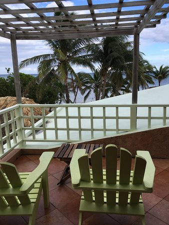 Caye Casa: View from room.