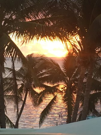 Caye Casa: Sunrise...ahhh!!! Room 8