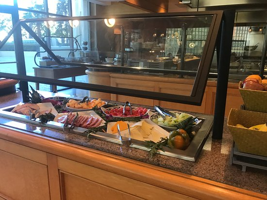 Doubletree Suites By Hilton Santa Monica Breakfast Buffet Cold Cuts Fruit Cheese