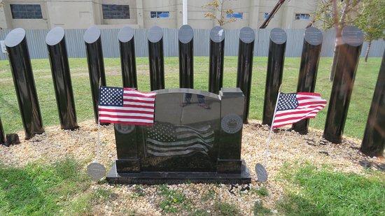 Bayonne, NJ: Memorial stone