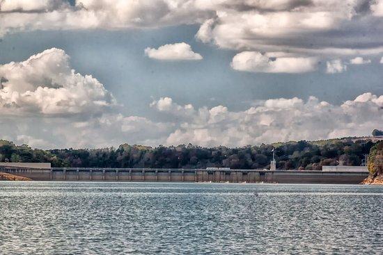 Dandridge, TN: Dam from a distance