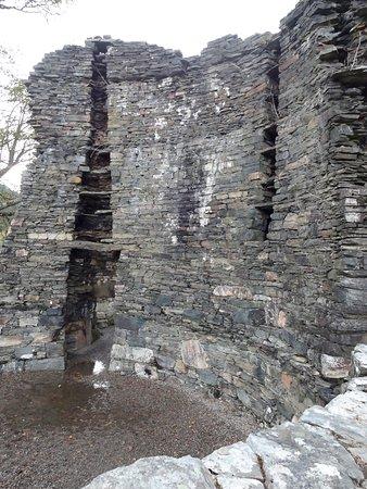 Glenelg, UK: The Dun Telve Broch remains.