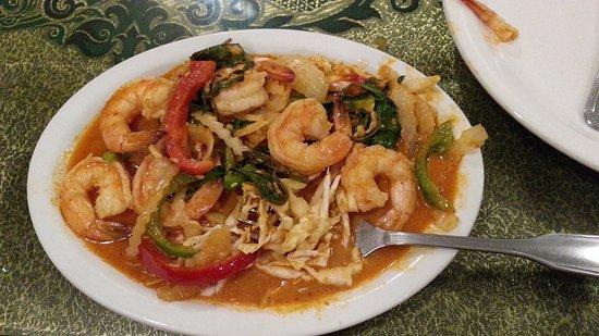 Royal SIAM Thai Restaurant: this was the coconut shrimp # 38