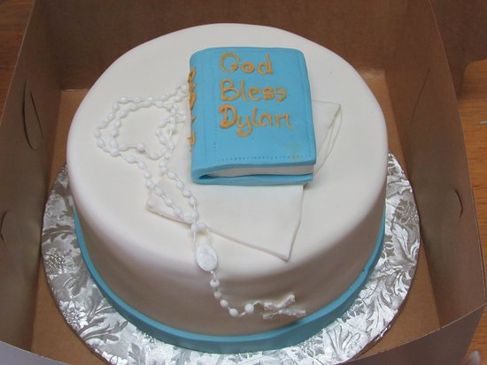 Springfield, NJ: First Communion Cake