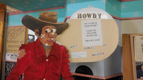 McLean, TX: Bob Wore!