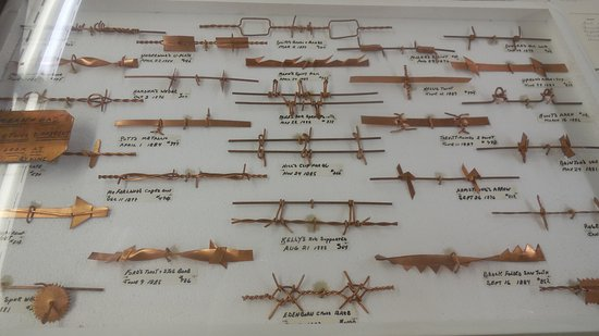 McLean, TX: This is just A FEW of the Barbed Wire Samples Found at this museum!