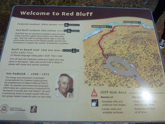 kalbarri national park map pdf