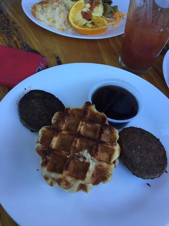 Ocean Springs, MS: Sunday brunch items from the chef's menu