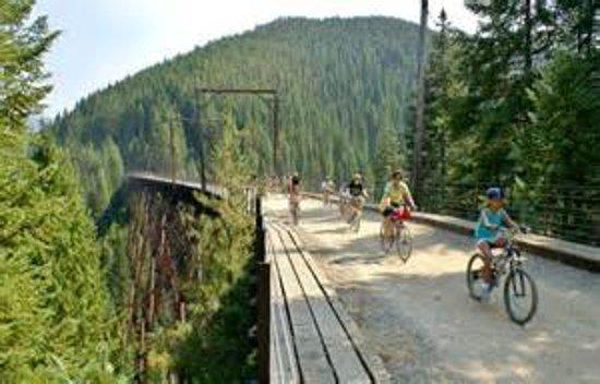 Wallace, ID: Hiawatha bike trail nearby