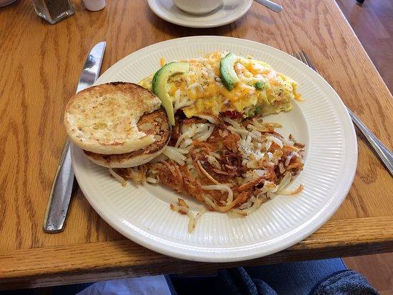 เบลัวต์, วิสคอนซิน: Avocado Omelet!