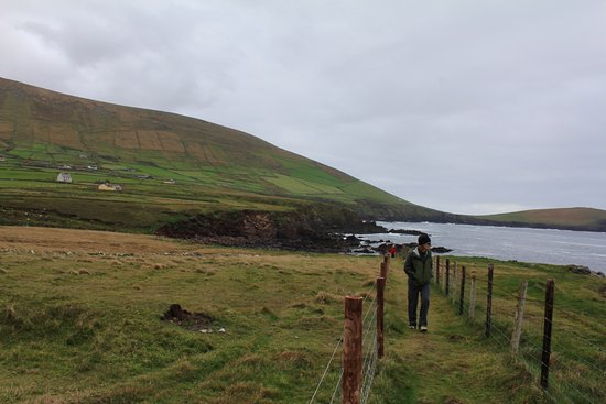 Dunquin, Ιρλανδία: Starting off.