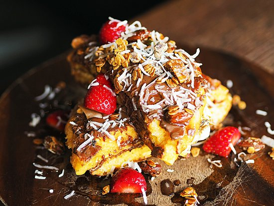 Greater Sydney, Australië: Delicious Nutella French Toast