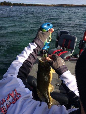 Washington Island, WI: It's a blast to fish with Jimmy