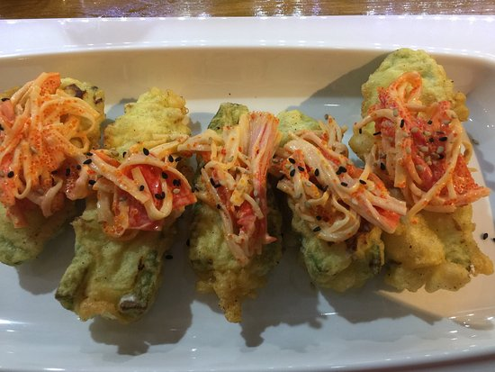The fish sushi cabo san lucas restaurant reviews phone for Blue fish sushi