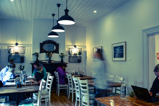 Eltham, Australia: Family brunch, time on the laptop or quick take away coffee #somanyreasonstovisit