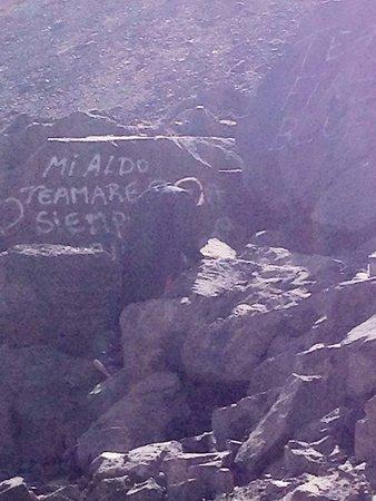 San Jose de Maipo, Şili: Alguem assinou por aqui