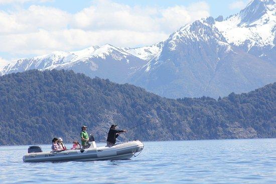 Pesca en Bariloche