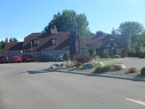 Fergus Falls, MN: The building exterior
