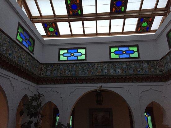 Hotel Riad Casa Hassan Restaurante : Rooftop panels