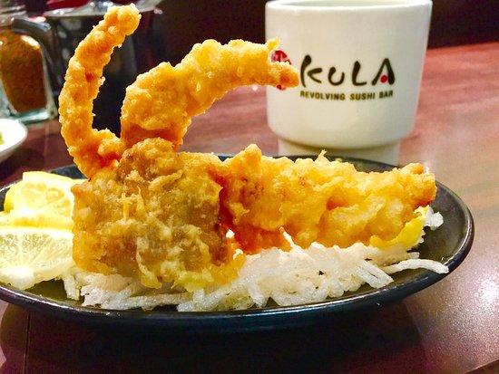 Rancho Cucamonga, Kalifornien: Soft shell crab tempura