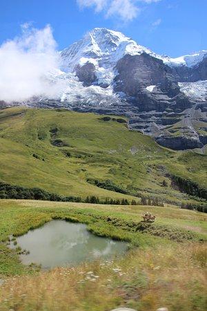 Jungfrau Region, Ελβετία: Kleine Scheidegg -Down the mountain a bit