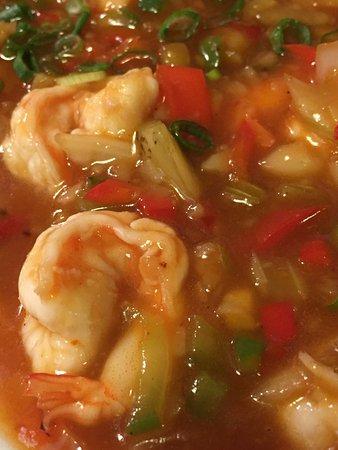 Barkerville, Kanada: Five Flavour Shrimp