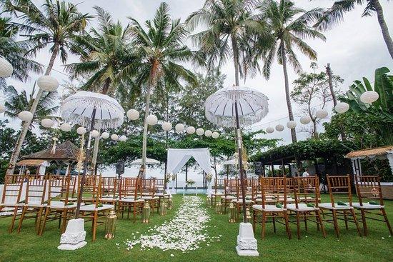 Ketewel, Indonesia: Wedding ceremony area