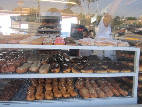 Inglewood, Kalifornia: The choice of donuts