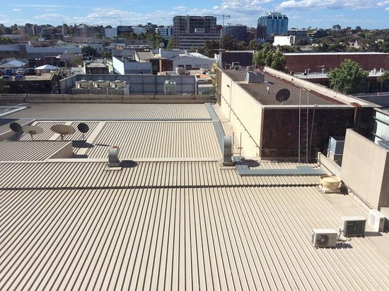 Bankstown, Australie : View from room 523