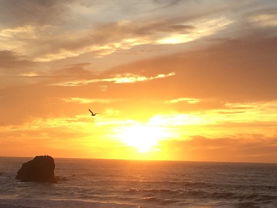 Pacifica, CA: Lovely sunset!