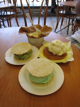 Mashti Malone's Ice Cream : Our choices
