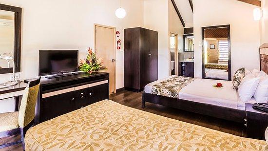 Tokatoka Resort Hotel: Studio Villas - Interconnects into a 1 bedroom villa.